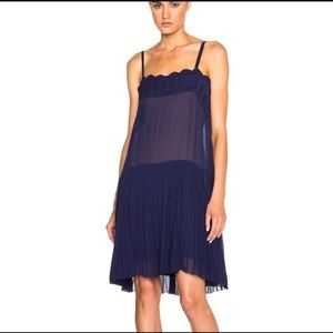 ISABEL MARANT | almira embroidered georgette dress